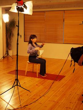 シュミッツ千栄子先生のテレビ収録が行われました!
